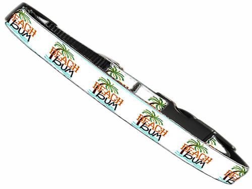 Beach Bum Nylon Dog Collar Xs
