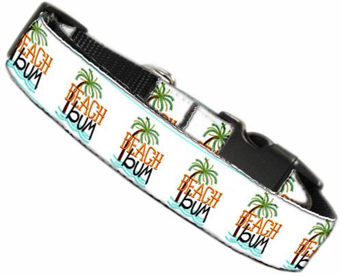 Beach Bum Nylon Dog Collar Lg