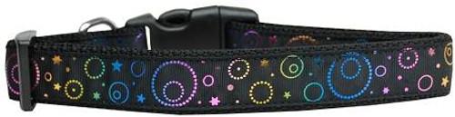 Galactic Shimmer Nylon Dog Collar Large