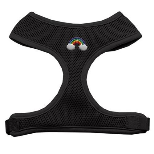 Rainbow Chipper Black Harness Large