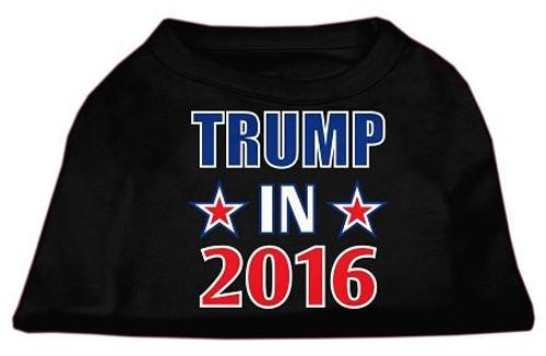 Trump In 2016 Election Screenprint Shirts Black Xl (16)