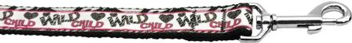 Wild Child 1 Inch Wide 4ft Long Leash
