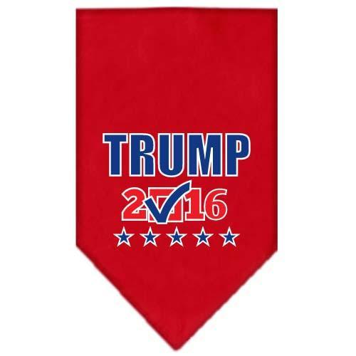 Trump Checkbox Election Screenprint Bandana Red Large