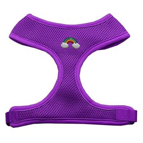Rainbow Chipper Purple Harness Large