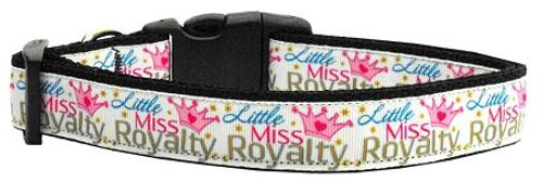 Little Miss Royalty Nylon Collar Medium