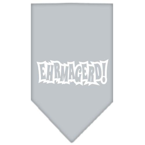 Ehrmagerd Screen Print Bandana Grey Small