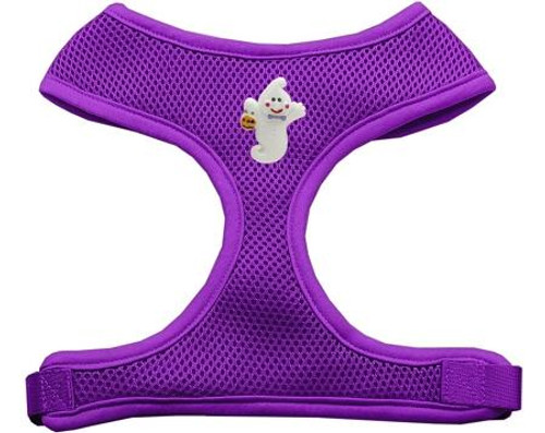 Ghost Chipper Purple Harness Large
