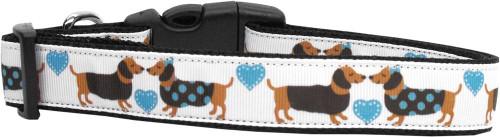 Doxie Love Nylon Dog Collars Large