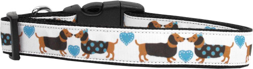 Doxie Love Nylon Dog Collars Medium