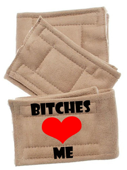 Peter Pads Size Md Bitches Love Me 3 Pack