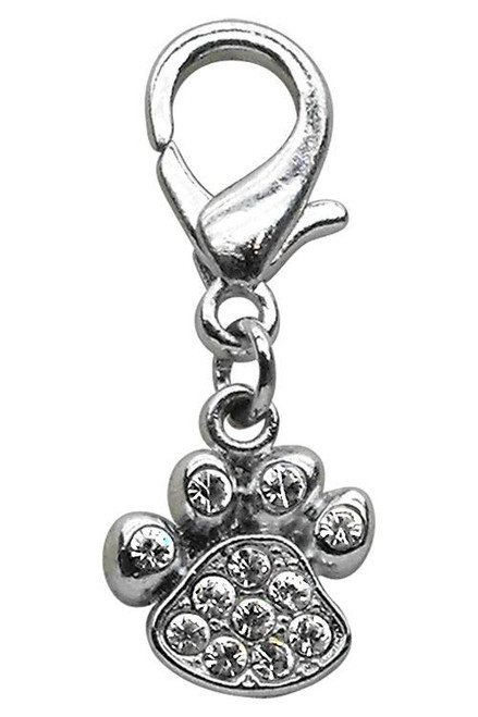 Lobster Claw Paw Charm Clear - 11-05 CL
