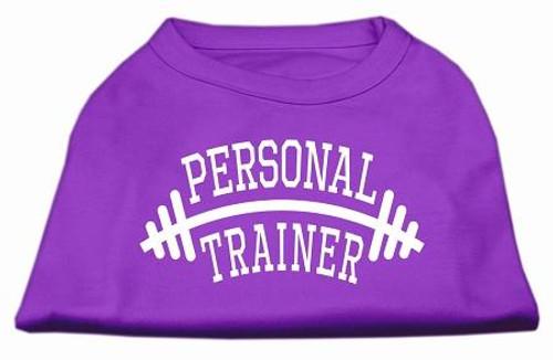Personal Trainer Screen Print Shirt Purple 4x (22)
