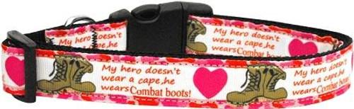 Combat Boots Dog Collar Large