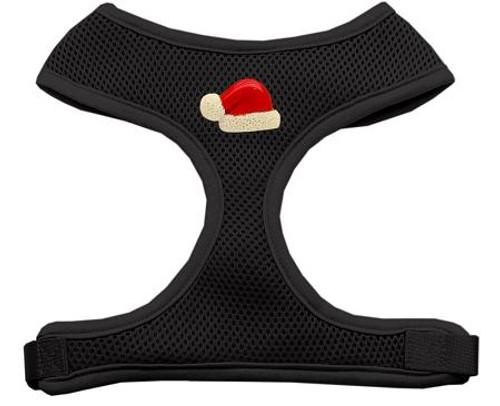 Santa Hat Chipper Black Harness Small