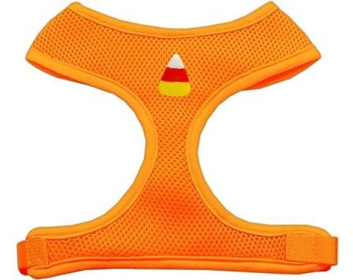 Candy Corn Chipper Orange Harness Medium