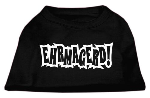 Ehrmagerd Screen Print Shirt Black Xxxl (20)