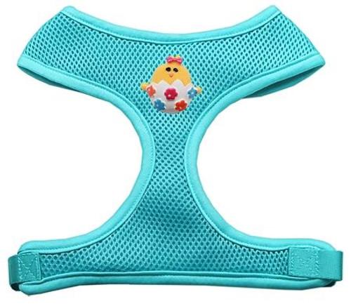 Easter Chick Chipper Aqua Harness Medium