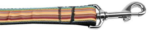 Autumn Stripes Nylon Dog Leash 6 Foot
