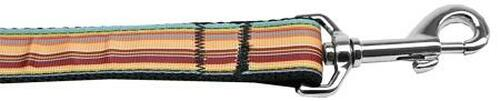 Autumn Stripes Nylon Dog Leash 4 Foot