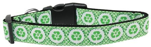 Reduce Paw Print Nylon Dog Collar Medium