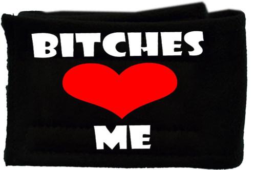 Peter Pads Black Size Lg Bitches Love Me Single
