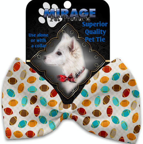 Halloween Candy Confetti Pet Bow Tie
