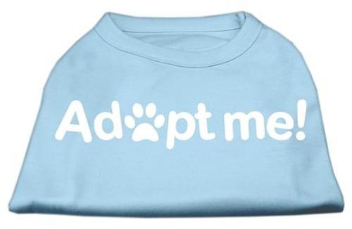 Adopt Me Screen Print Shirt Baby Blue Xxxl (20)