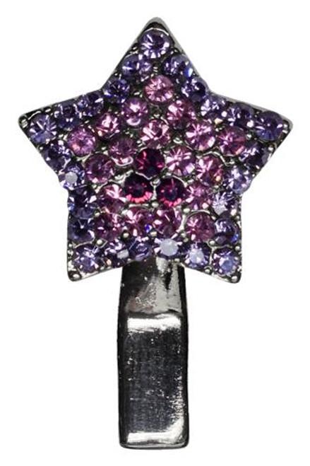 Star Clip Purple