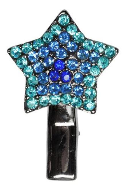Star Clip Blue