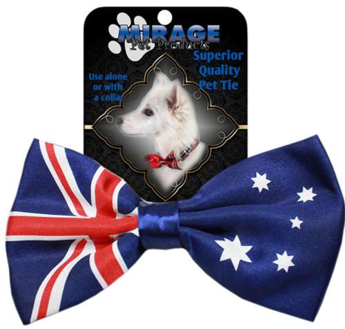 Big Dog Bow Tie Australian Flag