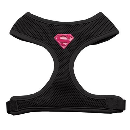 Pink Super Chipper Black Harness Large