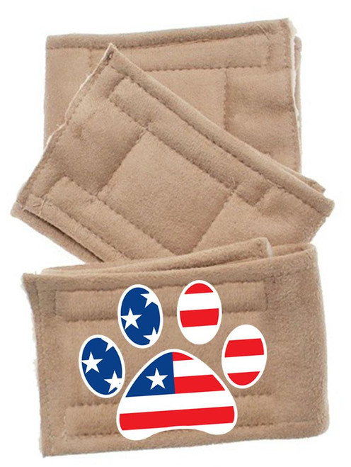 Peter Pads Size Lg Paw Flag 3 Pack