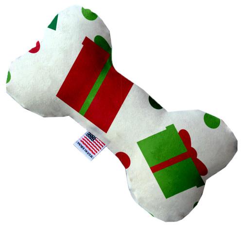 All The Presents! 8 Inch Bone Dog Toy
