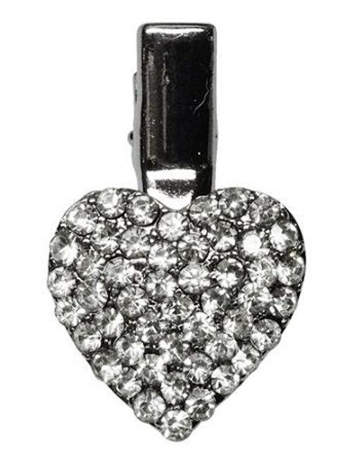 Heart Clip Clear