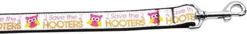 Save The Hooters Nylon Dog Leashes 4 Foot Leash