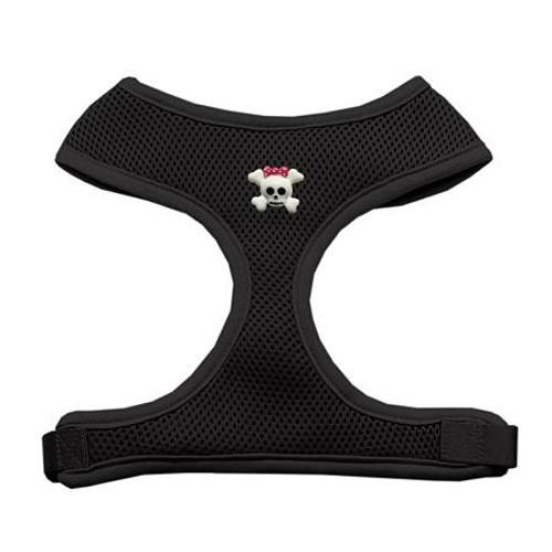 Girly Skull Chipper Black Harness Large