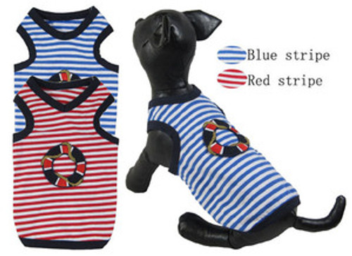 Life Buoy His-and-Hers Striped tank