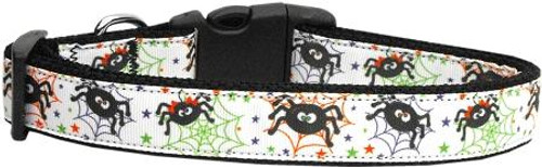 Itsy Bitsy Spiders Dog Collar Large