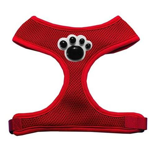 Black Paws Chipper Red Harness Small