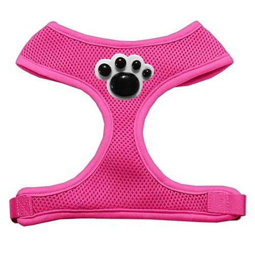 Black Paws Chipper Pink Harness Small