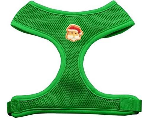 Santa Face Chipper Emerald Harness Large
