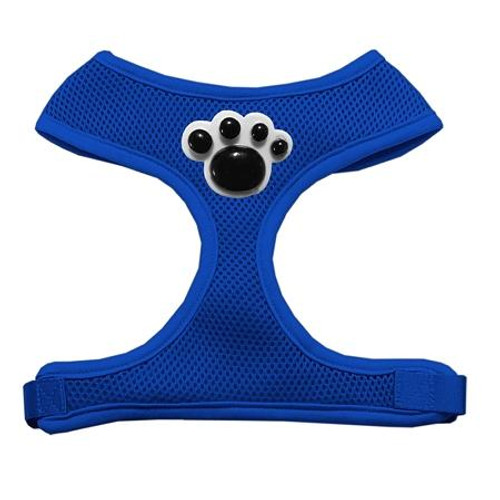Black Paws Chipper Blue Harness Small