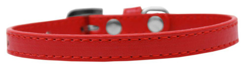 Omaha Plain Puppy Collar Red Size 10