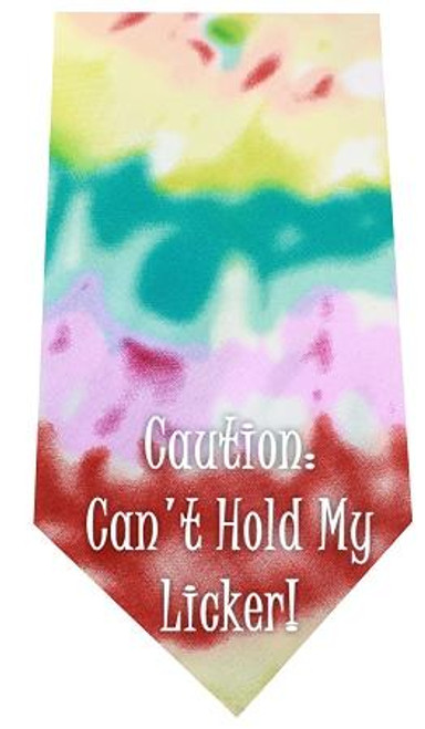 Cant Hold Licker Screen Print Bandana Tie Dye