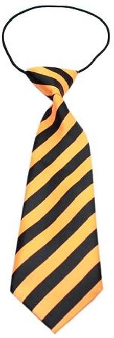 Big Dog Neck Tie Striped Orange