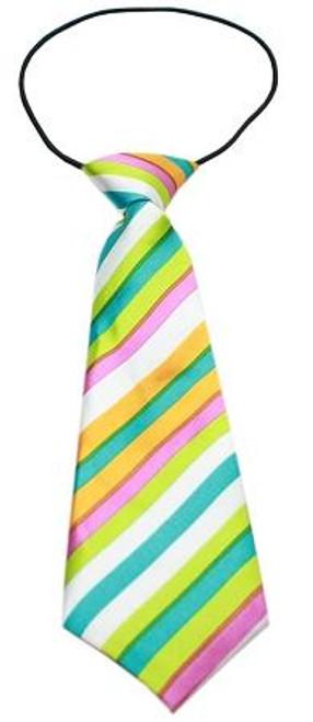 Big Dog Neck Tie Funky Stripes