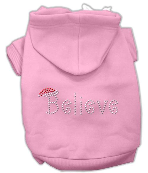 Believe Hoodies Pink Xxxl(20)