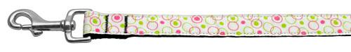 Retro Nylon Ribbon Collar White 1 Wide 4ft Lsh - 125-003 1004WT