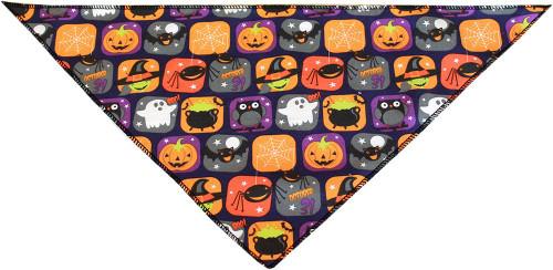 Classic Halloween Tie-on Pet Bandana Size Large