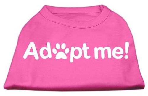 Adopt Me Screen Print Shirt Bright Pink Sm (10)